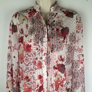 Abercrombie and Fitch Floral Blouse 🌹🌷